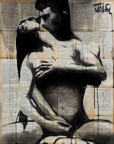 "Saatchi Art Artist Loui Jover; Drawing, ""eros"" #art"