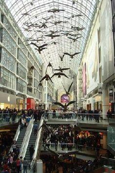 Eatons Center - Toronto | Canada I shopped here when I was 16!!