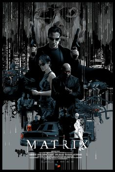 The Matrix Poster - Vance Kelly