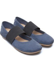 Camper Right Blue Flats Women Ballerinas, Blue Flats, Whats New, Womens Flats, Summer Collection, Fashion Boutique, Mary Janes, Camper, Toms