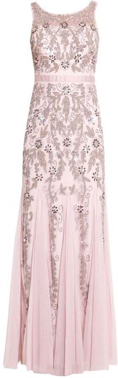 Adrianna Papell Ballkleid icy lilac