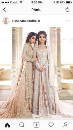 Trendy bridal dresses in pakistan beautiful Ideas Asian Wedding Dress, Pakistani Wedding Outfits, Pakistani Bridal Dresses, Asian Bridal, Pakistani Wedding Dresses, Bridal Outfits, Indian Dresses, Indian Outfits, Pakistani Couture