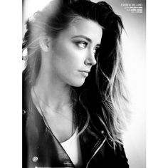 Amber Heard by Hilary Walsh for Malibu July 2013 ❤ liked on Polyvore featuring amber heard, girls, people, amber and hair