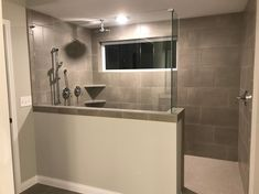 Invoke Sheer Glow 12x24 Wall Tile Installed Horizontal