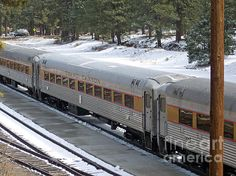 Snow Train by Roberta Byram. http://bertsworks.com