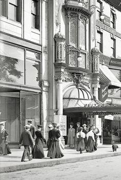 "vestatilleys:  "" Boston, Massachusetts, c.1906. (x)  """