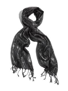 Amazon: GUESS by Marciano Metallic Knit Scarf $58.00