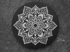 Mandala sur toile @Kosart