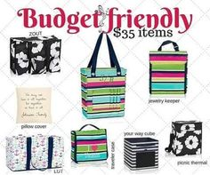Thirty-One has a bag for almost every budget!