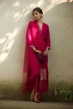 Beautiful Pink Salwar Kameez