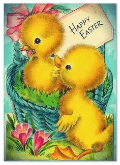 Nanalulu's Musings: Some Vintage EASTER Graphics Images To Share easter images Easter Art, Hoppy Easter, Easter Crafts, Easter Bunny, Easter Greeting Cards, Vintage Greeting Cards, Fete Pascal, Diy Ostern, Easter Parade