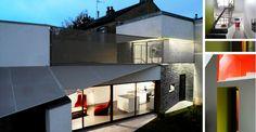 STONEPANEL® apporte une touche de style à la façade d'une maison familiale à Tours | #maison #design #architecture
