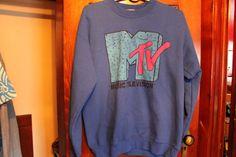 mtv vintage crewneck sweater on Etsy, $10.00