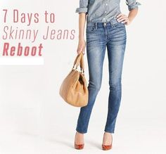 7 Days To Skinny Jeans Meal & Workout Plan #Health #Fitness #Trusper #Tip