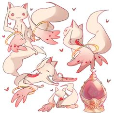Kyuubey http://www.pixiv.net/member.php?id=3859046