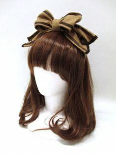 Angelic Pretty / Royal Creamy Chocolateカチューシャ lookit that cocoa creamy bow