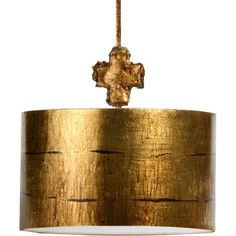 Flambeau Lighting 1 Light Drum Pendant