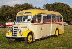 1950 Bedford OB Duple Vista coach