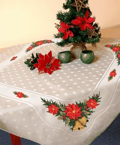 Christmas table-cloth - B. Sikora-Malyjurek
