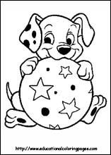 Coloring Pages For Kids disney 101 dalmation coloring pages