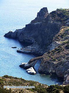 Gerontas Beach, Milos