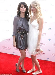 Throwback: The 22-year-old The Heart Wants What It Wants hitmaker and Taylor, pictured here at the Another Cinderella Story premiere in 2008, forged one of the sweetest friendships in music