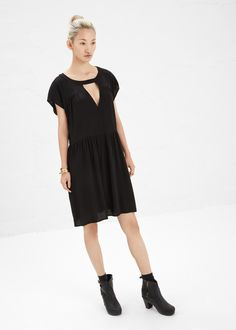 No. 6 Verna Cutout Dress (Black)