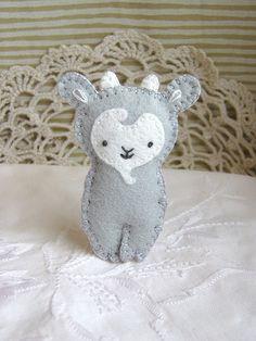 :: Crafty :: Stitch :: grey goat