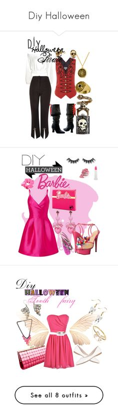 """""""Diy Halloween"""" by noremac-and-yenaled ❤ liked on Polyvore featuring Rachel Rachel Roy, Temperley London, Topshop, Kenneth Cole, Burberry, Tory Burch, Allurez, Alexander McQueen, Kasun and A Little Lovely Company"""