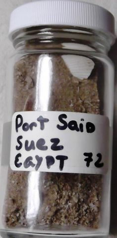 Beach Sand Port Said Suez Egypt | eBay