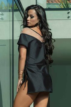 Hipkini Resort Laser Cover Up D Avila, Lifestyle Clothing, Moda Fitness, Swimsuit Cover, Athleisure, Cover Up, Shoulder Dress, Swimsuits, Brazil