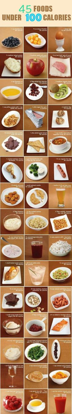2 Week Diet Plan - HEALTHY FOOD - 45 Foods Under 100 Calories. (Always within a balanced diet) - A Foolproof, Science-Based System thats Guaranteed to Melt Away All Your Unwanted Stubborn Body Fat in Just 14 Days.No Matter How Hard You've Tried Before! 100 Calorie Snacks, 1200 Calorie Diet, Low Calorie Recipes, 1000 Calorie Meal Plan, Meals Under 200 Calories, Healthy Choices, Healthy Life, Healthy Snacks, Healthy Eating