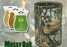 Mossy Oak Scentsy Warmer! Brand New Fall 2013 www.gonewickless.net
