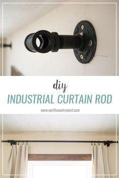 DIY Industrial Curta