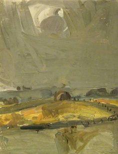 Joan Kathleen Harding Eardley: Haystack in Autumn