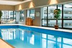 Homewood Suites downtown - nice indoor pool