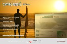 JellyCode was chosen to create and develop the website for the Portuguese eventCapitulo Perfeito's– powered by Billabong . In addition to the editorial content of the website , it has also an online poll of surfers who will compete in the tournament , as well as the live streaming of the event which takes place …