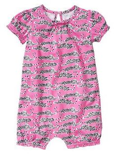 Diane von Furstenberg ♥ babyGap printed romper - Fashion icon Diane von Furstenberg takes us on a voyage of discovery with her colorful collection featuring exotic prints and patterns that embraces the explorer from newborn to 14 years old.