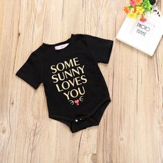 >> Click to Buy << Newborn Baby Girl Boy Romper Toddler Kid Short Sleeve Letter Print Jumpsuit One Pieces Outfits Clothes #Affiliate