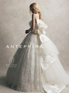 ANTEPRIMA 必ず試着しておきたい!みんなに人気の【ご指名】ウェディングドレスブランド5選♡にて紹介している画像