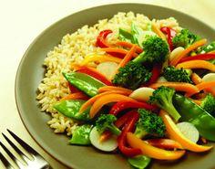 Ein Wok-Gemüse schmeckt lecker und sättigt zugleich. Der #Wok ist schnell fertig :).