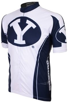 NCAA Men s Adrenaline Promotions BYU Cougars Road Cycling Jersey 0e3e39a38