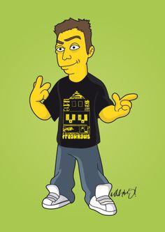 MAR1U5 Simpsonized