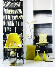 Here's our Mellow yellow photo gallery including pictures of luscious decor, fashion shoes, accessories and nature. Mellow Yellow, Black N Yellow, Lemon Yellow, Bright Yellow, Color Yellow, Interior Decorating, Interior Design, Interior Architecture, Interior Photography