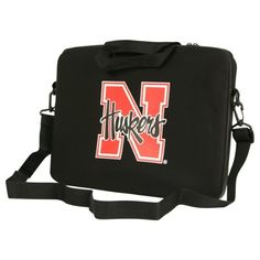 """Nebraska University Corn Huskers Neoprene Laptop Case 15"""" Laptop by NCAA. $24.99. Protect your computer and show off your team spirit. Makes a great gift"""