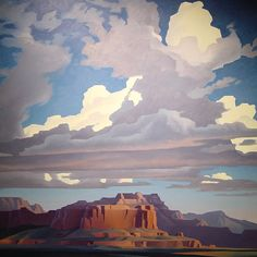 Mesa, Ed Mell - style use of color