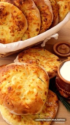 Lepinje sa jogurtom i sirom — Coolinarika - Julijana Sprenger - macedonian food Bosnian Recipes, Croatian Recipes, Bakery Recipes, Bread Recipes, Cooking Recipes, Kiflice Recipe, Bread Dough Recipe, Macedonian Food, European Cuisine