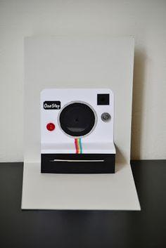 Polaroid camera pop up birthday card so clever cards - Polaroid karten ...