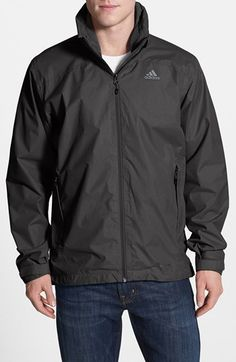 adidas 'Hiking - Wandertag' CLIMAPROOF® Full Zip Jacket