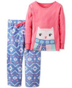Carter's 2-Pc. Owl Pajama Set, Little Girls (2-6X) & Big Girls (7-16)
